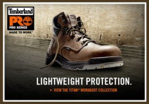 Timberland Pro Titan Work Boots