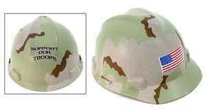 Camouflage Hard Hat