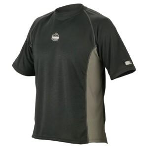 CG-6420_Ergodyne_BLACK_Core-Performance-Mid-Layer-Short-Sleeve-Shirt