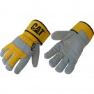 CGCAT011310L_-00_Grey-Yellow_Top_cat-gloves-insulated-cotton-back-leather-palm