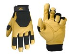 CLC285_-00_Top-Grain-Deerskin-and-Spandex-Gloves-by-Custom-LeatherCraft