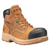 "Timberland PRO Men's 6"" Distressed Wheat Helix HD Composite Toe WP Work Boots"