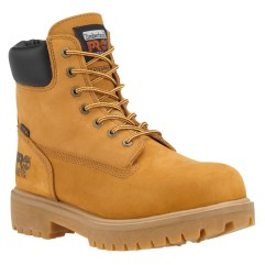 "Timberland PRO Men's 6"" Direct Attach Steel Toe Insulated WP Work Boots"