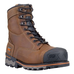 "Timberland PRO Men's 8"" Boondock Composite Toe WP Work Boots"