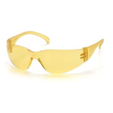 PS4130S_-00_Amber_Front_Pyramex-Safety-Glasses-Intruder-Amber-Lens-Frame