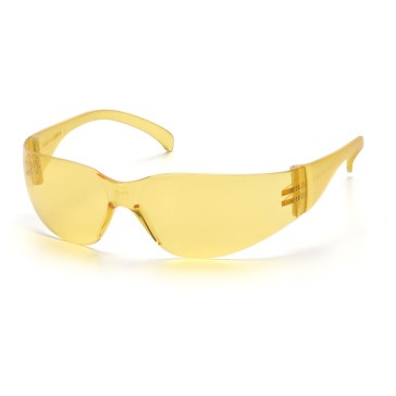 PS4130S_-00_Amber_Front_Pyramex-Safety-Glasses-Intruder-Amber-Lens-Frame