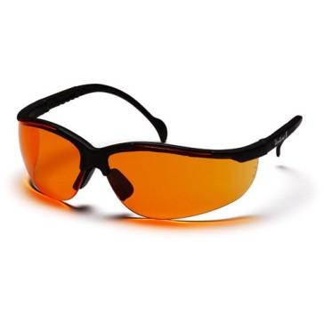PSB1840S_-00_Orange-with-Black_Front_Pyramex-Safety-Glasses-Venture-II-Orange-Lens-Black-Frame